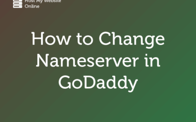 How to Change Name Server in GoDaddy – Guide
