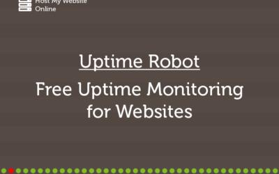Uptime Robot – Free Uptime Monitoring for Websites