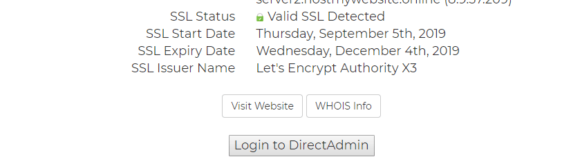 How to Login to DirectAdmin Control Panel 3