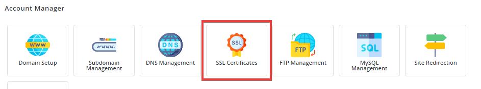 SSL Certificates in DirectAdmin