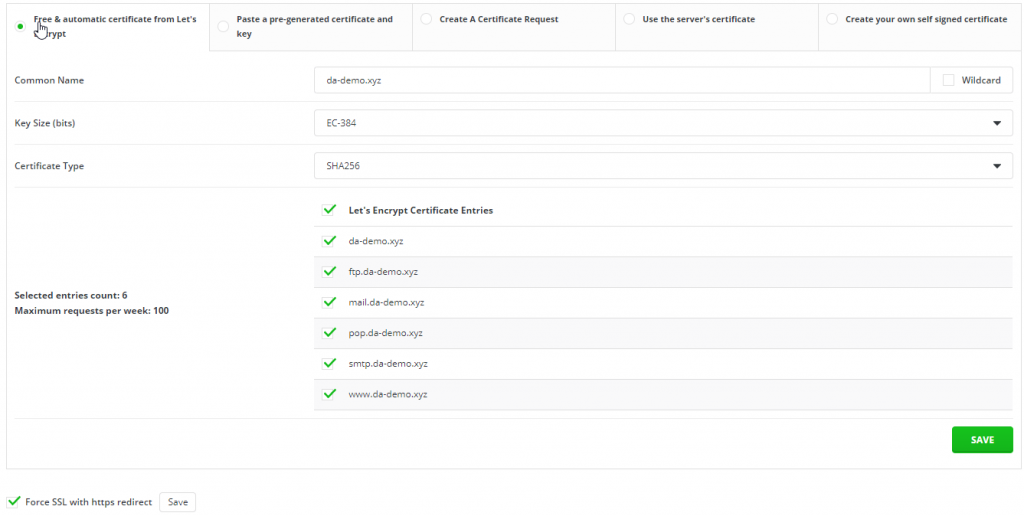 How to Install SSL Certificates From DirectAdmin