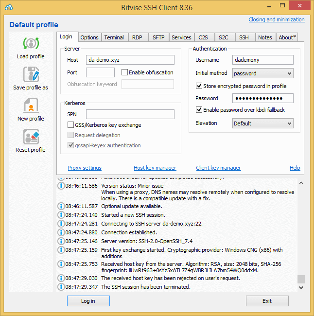 How to Connect DirectAdmin With SFTP 1