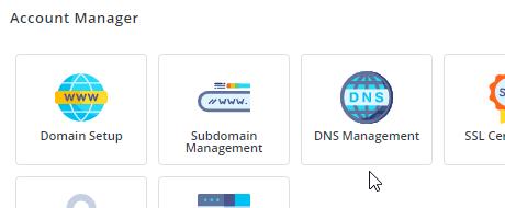 DirectAdmin DNS Management Icon