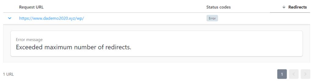 Redirect Checker Tool